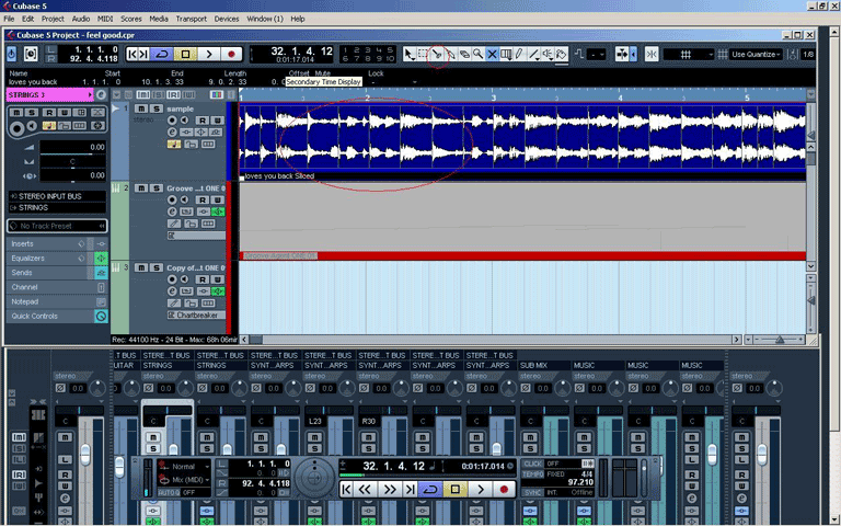 Sample-With-Cubase-Step-3