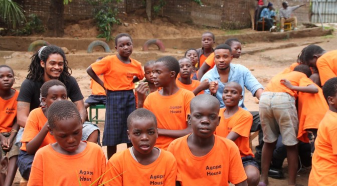 Fredokiss and Ace Dirty Cheer Up Kids At The Agape Orphanage Foundation
