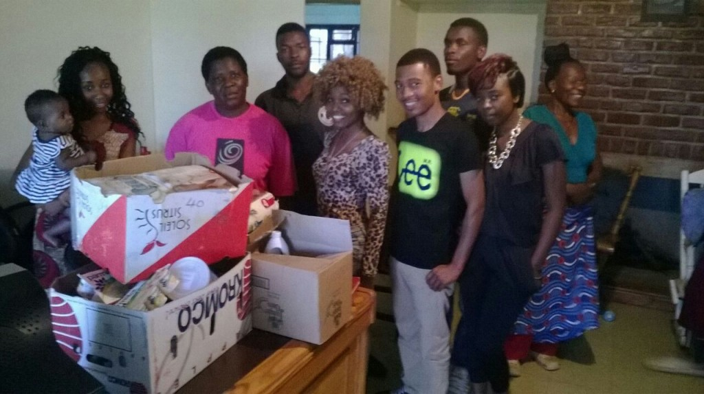 Sarah, Capital Gal, RoyView, Evanz, Ababa, Kissy Face and some of the nursery care-takers