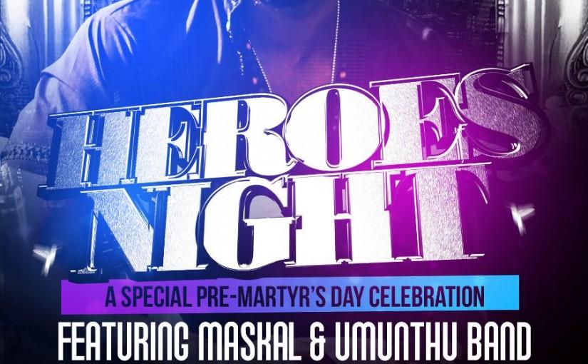 Maskal Live at Mibawa Cafe: Heroes Tonight